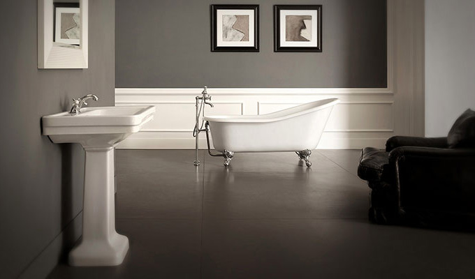 Arredobagno classico bath bath for Arredi bagno roma