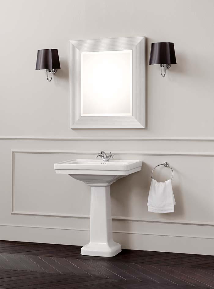 Bagno Stile Inglese Bianco: Idee per arredare un bagno in ...